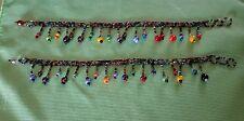Set of 2 Beaded Ankle Bracelets.. Soo cute!!! FREE SHIPPING!!!
