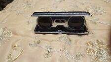 Vintage Folding Opera Glasses Binoculars Coated Lenses Made In Japan
