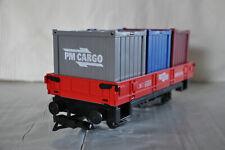 Playmobil Eisenbahn Waggon Flachbordwaggon aus Set 5258 für RC Train