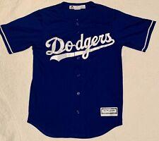 LA Dodgers #22 Clayton Kershaw CoolBase Stitched Blue Jersey small