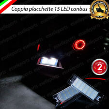 COPPIA PLACCHETTE LED LUCI TARGA 18 LED ALFA MITO 6000K NO ERRORE ULTRALUMINOSI