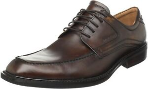Ecco Men's Windsor 51814 Apron Tie (Light Wt. Leather Lined and Insole 2 colors)