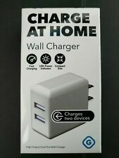 Gems Dual USB Home Wall AC Charger