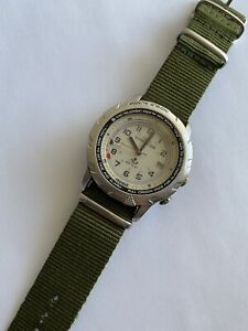 Vintage Timex Expedition Indiglo Alarm Men's Watch