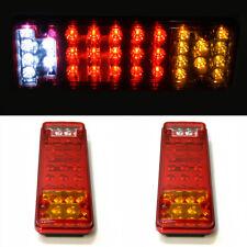 2x 24 V Trasera Con Camión Luces 31 LED Lámpara Indicadora De Parada Camión Caravana Remolque