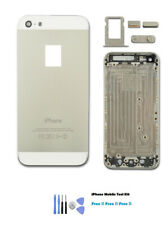 NEW iPhone 5 Silver White Housing Back Cover Battery steal Case FREE TOOL KIT