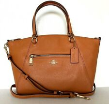New Coach 79997 Prairie Satchel Pebble Leather handbag Sedona