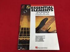 Essential Elements 2000 - Electric Bass Guitar -  Book 2 - With CD -