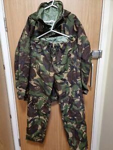 British Army DPM Goretex Jacket And Trousers. Waterproof.