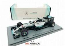 Modellini statici di auto da corsa Formula 1 Spark Lewis Hamilton
