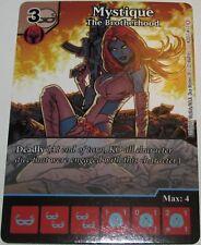 MYSTIQUE: THE BROTHERHOOD M2017 #11 Marvel Dice Masters Monthly full art OP