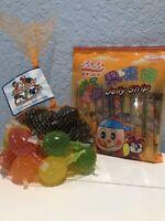 TIK TOK CANDY Dely Gely Fruit Jelly & Jelly Sticks 10/20 Sealed pack tiktok