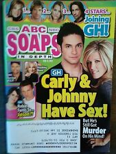 LOT OF 2 ABC SOAPS IN DEPTH MAGAZINES FROM 02/2012 BEAUTIFUL ABC SOAP MAGAZINES
