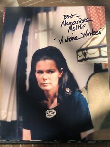 Alexandra Moltke Isles 8x10 Signed Photo Dark Shadows Victoria Winters