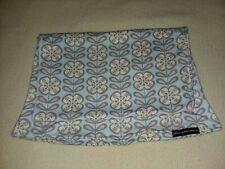Petunia Pickle Bottom Sojourn Sling Carrier Baby Blue Gray Flower Pattern Medium