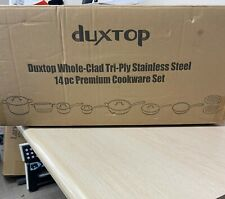 Duxtop Whole Clad Tri Ply Induction Cookware Set Stainless Steel 14 Piece