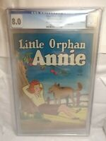 Four Color #107 (CGC 8.0 - OWTW PAGES) LITTLE ORPHAN ANNIE - 1946 FILE COPY