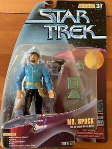 Playmates Mr. Spock From The Episode Mirror Action Figure 65105
