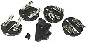 Scalextric Round Guide Blade with 4 Braid Plates and 1 Screw Parts Pack for 1:32