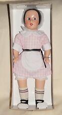 "Horsman Ella Cinders 1988 Doll 17"" Vinyl Cloth Body in Original Box 7147-2"