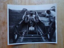1960s NHRA Drag Racing-Supercharged Dragster-Houston International Raceway-Texas