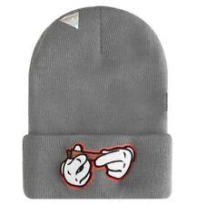 Cappelli da uomo cuffie acrilico grigio