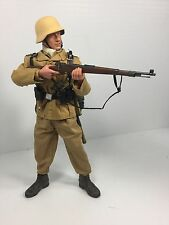 1/6 DRAGON GERMAN SS DAK RIFLEMAN K-98 NORTH AFRICA FULL GEAR DID BBI WW2 21ST