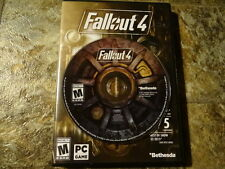 DISC ONLY ~ PC ~ Fallout 4 ~ Ships in Original Case. No code included