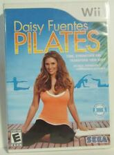 Nintendo Wii game Daisy Fuentes Pilates Rated E