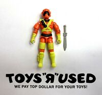 "Ice Cream Soldier v1 Vintage GI Joe 3.75"" Action Figure 1994 Hasbro ARAH 90s"