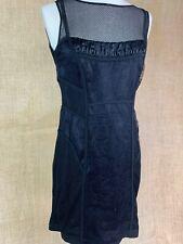 MARC CAIN * Black Lace Corset Dress * Size 2/3