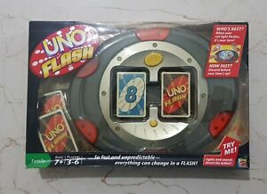MATTEL UNO FLASH ELECTRONIC CARD GAME - BRAND NEW
