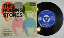 """THE ROLLING STONES - Satisfaction - Spanish 7"""" EP 45 Spain 1965 WITH TRICENTER"""