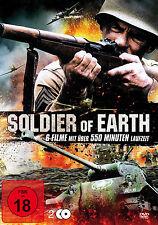 % 2 DVDs * SOLDIER OF EARTH - 6 FILME - # NEU OVP