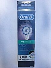 3 ORAL-B PRO GUMCARE Replacement Toothbrush Tooth Brush Heads Refills Gum Care