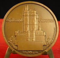 Medal Castle and Town Vincennes Arms by G Crouzat Medal 勋章