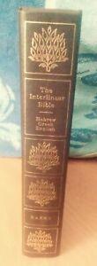 The Interlinear Bible Hebrew Greek English Hard Cover Jay Green 1981