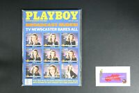 💎 PLAYBOY MAGAZINE JUL 1989 TV NEWSCASTER BARES ALL SHELLY JAMISON 💎