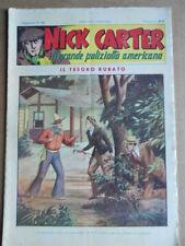 Nick Carter Il Grande poliziotto americano Anni 40 n°75 ed. NERBINI  [G369]