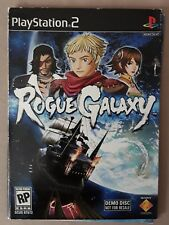 Rogue Galaxy (Demo Disc) PS2 Video Game Sony PlayStation 2 Cardboard Sleeve