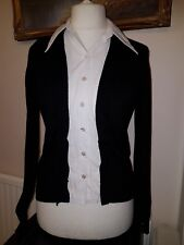 CHANEL UNIFORM LADIES CARDIGAN SIZE L GENUINE