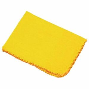 Jantex Dusters Cloth in Yellow - Made of Cotton 508(W) x 406(D)mm - 10
