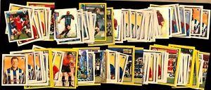 Merlin Premier League Stickers 98 1997/1998 - Unstuck Bundle x130+