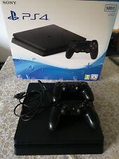 Playstation 4 slim PS4  nero 2 controller originali NO WIFI