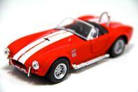 "Brand New 5"" Kinsmart 1965 Shelby Cobra 427 S/C Diecast Model Toy Car 1:32 Red"
