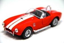 "Brand New 5"" Kinsmart 1965 Shelby Cobra 427 S/C Diecast Model Toy Car 1:32 Red"