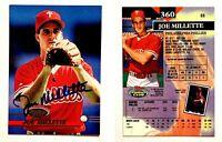 Joe Millett Signed 1993 Stadium Club #289 Card Philadelphia Phillies Autograph