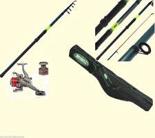 Mitchell Rod Bag Sea Fishing Rod + Ln70 Reel Travel 12ft Beach Surf Rod  + Line