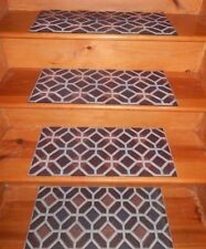 4 =  Step = 10'' x 24'' Outdoor / Indoor  Non-Slip Staircase 100% Rubber .