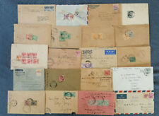Straits Settlement, Malaysia, 20 Briefe aus 1909-1952  (H29)
